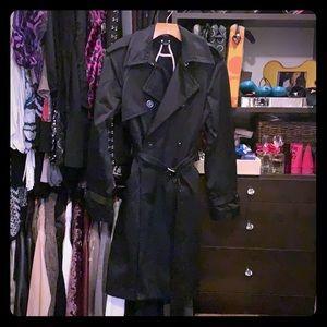 😍💃🏻Black Trench coat